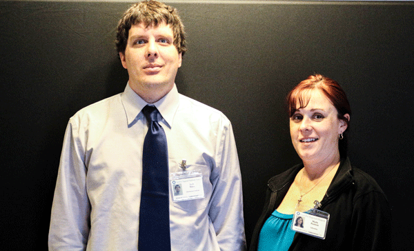 HRHS welcomes new team members, Joshua Miles, Support Specialist for Information Systems, and Marla Paulsen, Phlebotomist for Laboratory Services.