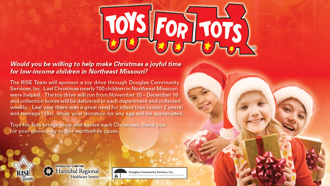 Toys For Tots Collection : Toys for tots iv newsletter hannibal regional